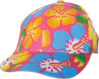 Hawaii-Party - Luau - Cap - pink