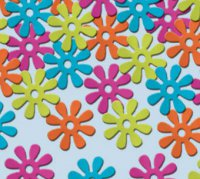 Konfetti - Flower Power - Retro