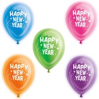 LED-Luftballons - Happy New Year