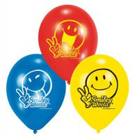 Luftballons - Smiley Comic