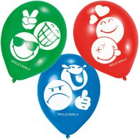 Luftballons - Smileyworld - Emoticons