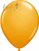 Luftballons - orange - metallic
