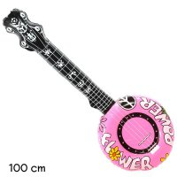 Luftgitarre - Banjo - Flower Power