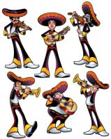 Mariachi - Fiesta-Party - Deko-Set