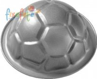 Motiv-Backform - Fu�ball - gro�