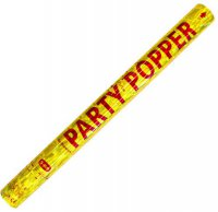 Party-Popper - Konfettikanone - gold - 57 cm