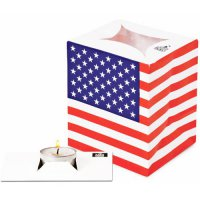 Partylichter - Lichtert�ten - USA - 4er Pack