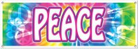 Peace-Banner - 60er-Jahre