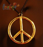Peace-Kette - silber