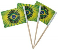 Picks - Brasilien - 50 St�ck