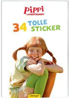 Pippi Langstrumpf - Stickerheft - Film