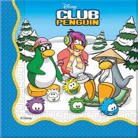 Servietten - Disney-Club Penguin