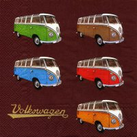 Servietten - VW T1 - Samba-Bus-Collection