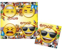 Servietten - emoji-Party
