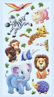 Soft-Sticker - Zootiere