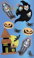 Sticker - Halloween-Geister-Collage