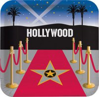 Teller - Hollywood - roter Teppich