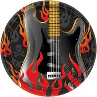 Teller - Rock On - gro� - E-Gitarre