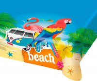 Tischdecke - Sommerparty - Beachparty