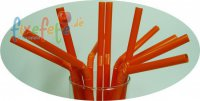 Trinkhalme - flexi - orange - 50 St�ck