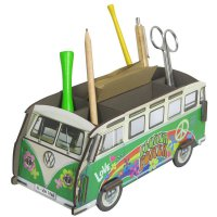 VW-Bus - Flower-Power-Bulli - Stiftebox