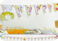 Wimpelkette - Happy Birthday - Kleine K�che