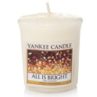 Yankee Candle Duftkerze All is Bright - Votivkerze