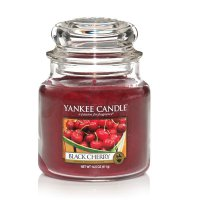 Yankee Candle Duftkerze Black Cherry 411g