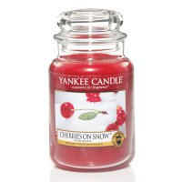 Yankee Candle Duftkerze Cherries on Snow 411g