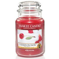 Yankee Candle Duftkerze Cherries on Snow 623g