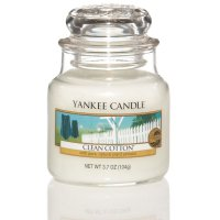 Yankee Candle Duftkerze Clean Cotton 104g