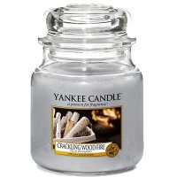 Yankee Candle Duftkerze Crackling Wood Fire 411g