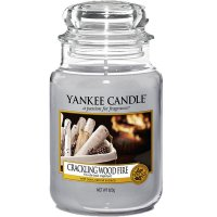 Yankee Candle Duftkerze Crackling Wood Fire 623g