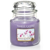 Yankee Candle Duftkerze Honey Blossom 411g