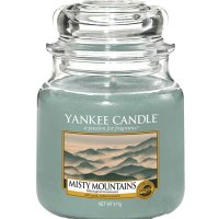 Yankee Candle Duftkerze Misty Mountains 411g
