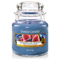 Yankee Candle Duftkerze Mulberry & Fig Delight 104g