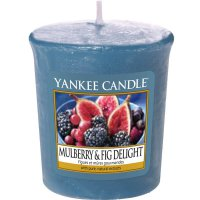Yankee Candle Duftkerze Mulberry & Fig Delight - Votivkerze
