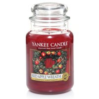 Yankee Candle Duftkerze Red Apple Wreath 623g