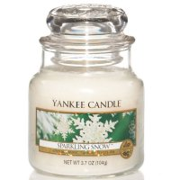 Yankee Candle Duftkerze Sparkling Snow 104g