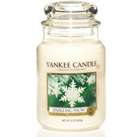 Yankee Candle Duftkerze Sparkling Snow 623g