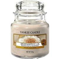 Yankee Candle Duftkerze Spiced White Cocoa 104g
