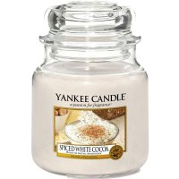 Yankee Candle Duftkerze Spiced White Cocoa 411g