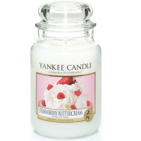 Yankee Candle Duftkerze Strawberry Buttercream 623g