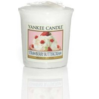 Yankee Candle Duftkerze Strawberry Buttercream - Votivkerze