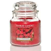Yankee Candle Duftkerze Sweet Strawberry 411g