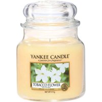 Yankee Candle Duftkerze Tobacco Flower 411g