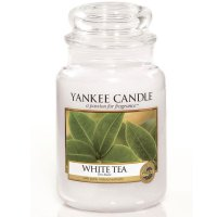Yankee Candle Duftkerze White Tea 623g