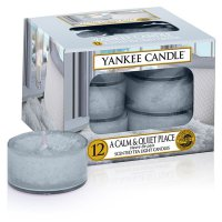 Yankee Candle Teelichter A Calm & Quiet Place - 12er Pack