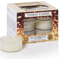 Yankee Candle Teelichter All is Bright - 12er Pack