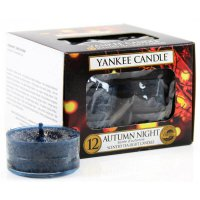 Yankee Candle Teelichter Autumn Night - 12er Pack
